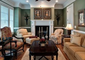 Living room - real estate photography