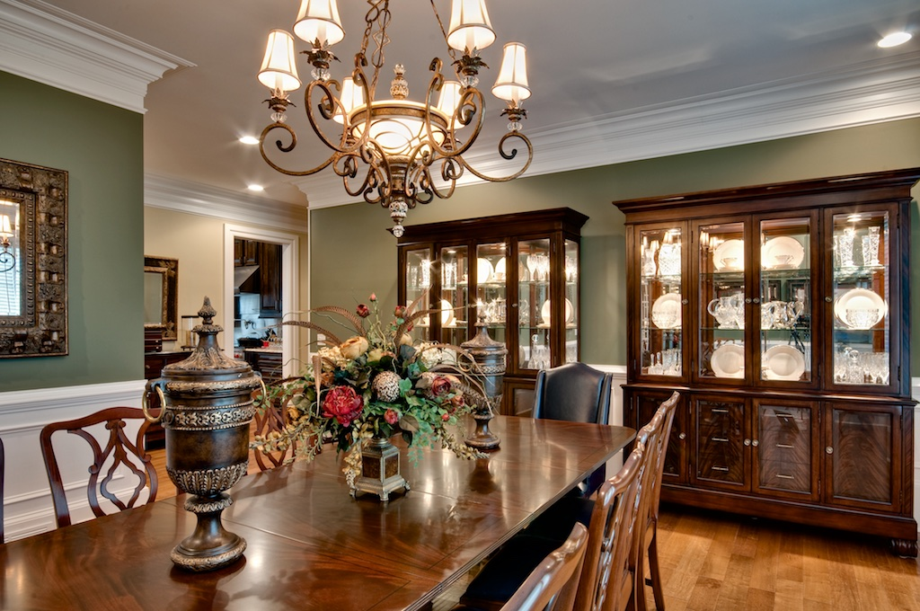 Dining room - real estate photography