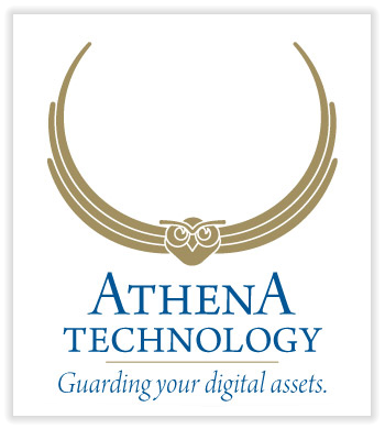 Athena Technology Logo Design