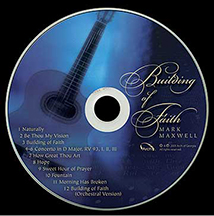 Building of Faith CD graphics